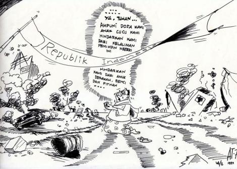 kartun, karikatur, reformasi